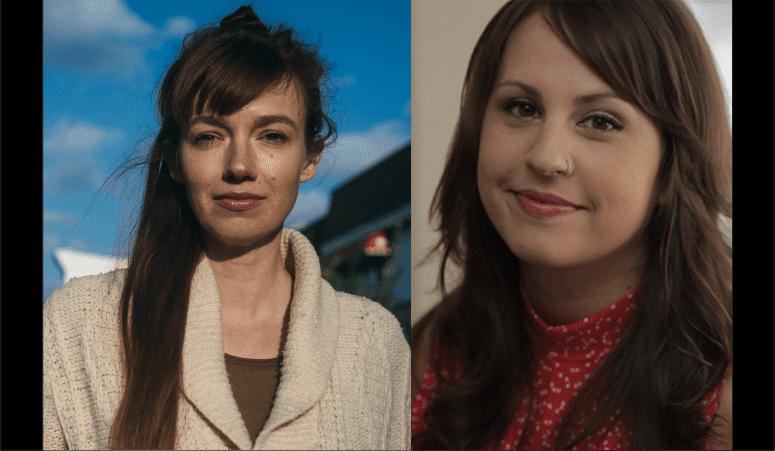 "Editor Emelie Mahdavian and Co-Editor Co-Editor Kristina Motwani of 2019 Sundance selection ""Midnight Traveler"""